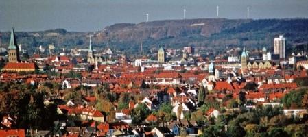 Osnabrück - die Altstadt und der Piesberg