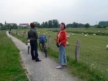 Kurz vor Bramsche - Pause im Osnabrücker Land