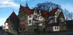 Osnabrück-Das Rasthsgymnasium vom Wall aus gesehen, www.osnabrueck-fuehrungen.de